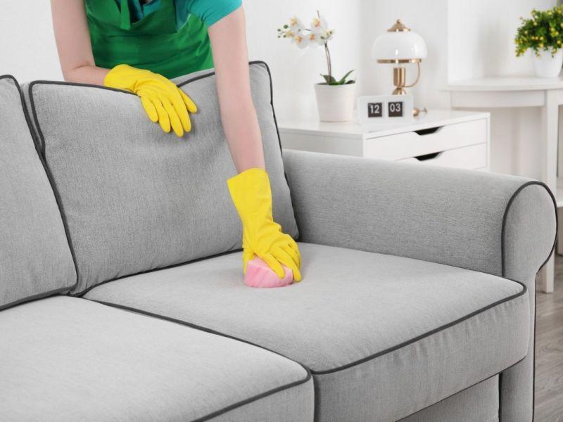 удалить жирные пятна  с мебели