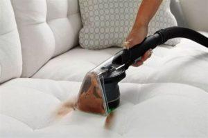 чистка белого дивана самостоятельно