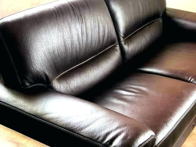 как почистить кожаный диван самому